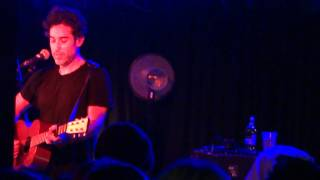 Closer (with long chat intro) - Joshua Radin, Manchester Club Academy 10 October 2011