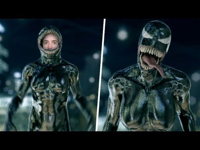 She-VENOM Transformation (Mask, Copy) Test Effect - 2018