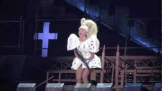 "LADY GAGA: ""Judas"" live @ Milano"