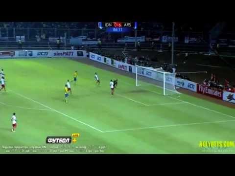 Tomáš Rosický Vs Indonesia All Stars Xl Away 13-14 | HD