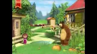 Прохождение игры Маша и Медведь Подготовка к школе видео онлайн