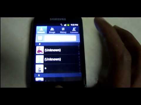 Samsung Galaxy FIT 2.3.6 DDKT2 Official Update Review!