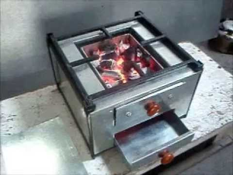 Smokeless Charcoal Stove Youtube