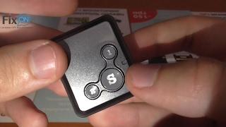 Самый миниатюрный GPS маячок F1600
