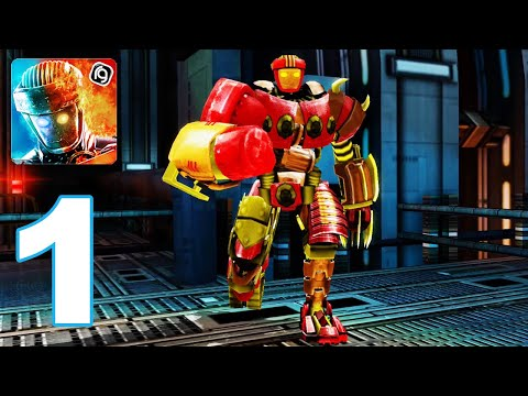 Real Steel Boxing Champions - Gameplay Walkthrough Part 1 - Craft Robot (Android Games)