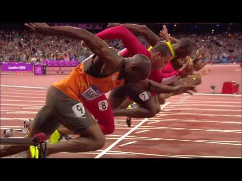 Usain Bolt Wins 100m London 2012 Olympics - YouTube