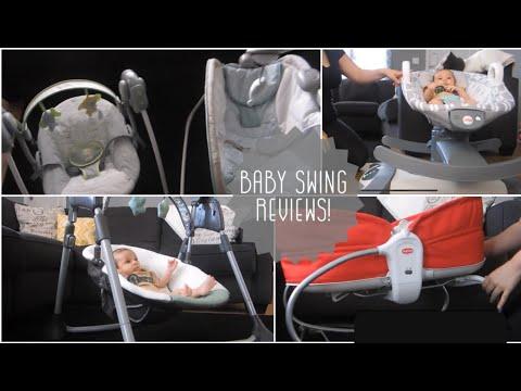graco-swing-+-tiny-love-3-in-1-rocker-+-fisher-price-rock-n-glide-|-baby-swings-+-rocker-reviews
