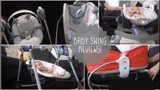 Graco Swing + Tiny Love 3-in-1 Rocker + Fisher Price Rock n Glide | Baby Swings + Rocker Reviews
