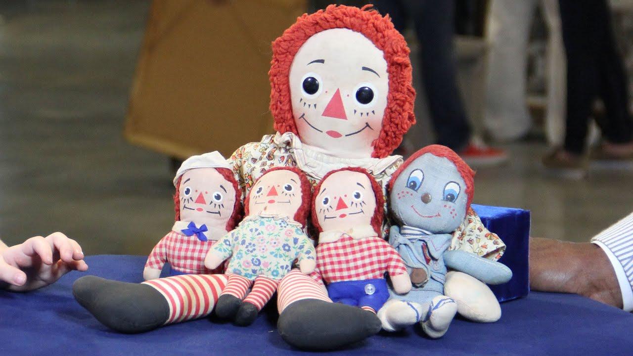web appraisal raggedy ann u0026 andy dolls ca 1965 cleveland oh