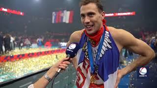 Poslednji Poen, Slavlje Igrača Srbije, Dodela Medalja, Himna i Izjave    SPORT KLUB Odbojka