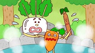 【絵本】にんじん だいこん ごぼう【読み聞かせ】野菜が好きになる! 日本昔ばなし