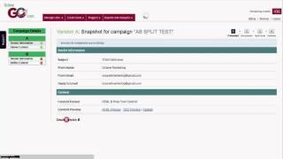 Comment créer un AB de la campagne de Test