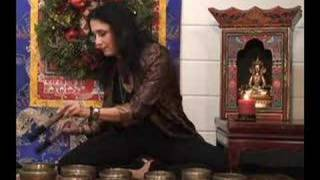 Singing Bowl Christmas Carol from Bodhisattva.com