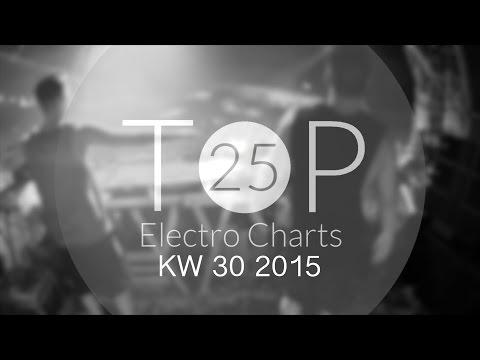 Deutsche Top 25 Electro Charts [KW 30 2015][HD]