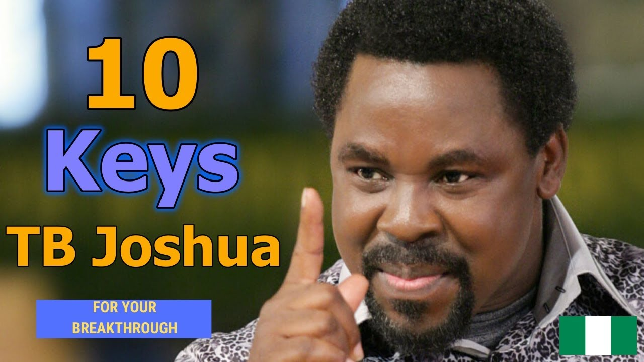 Download TB Joshua (The Best Of) - 10 Keys For Your Breakthrough