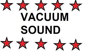 Beautiful vacuuming in room - sound like dream