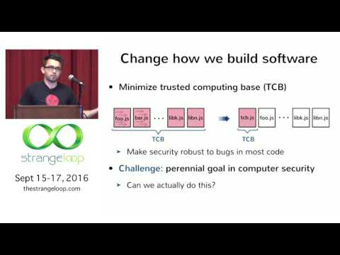 """""""Building Secure Systems in Haskell"""" by Deian Stefan"""