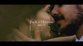 Wedding Film // Zach + Chrystie // Napa, CA