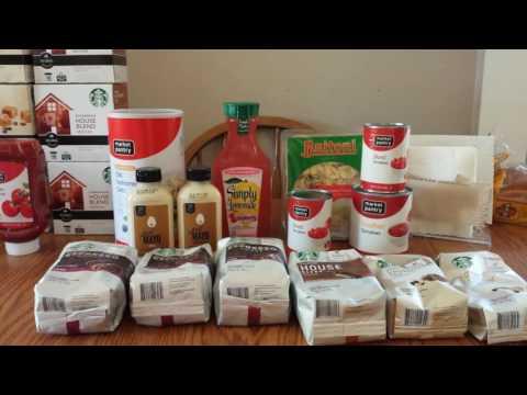 Target Haul!  Stock up on Starbucks!
