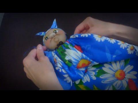 видео: Кукла для полотенец