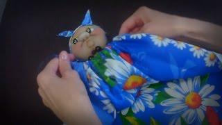 Кукла для полотенец