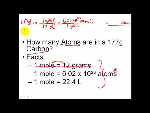 Solving Mole Problems Dimensional Analysis Practice Clear
