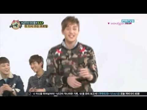 130306 Weekly Idol B.A.P trying to impress SPICA Kim Bo Hyung CUT