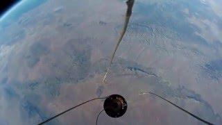 запуск GOPRO в космос на ракете