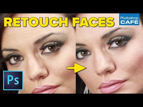 How to retouch a face in Photoshop - PhotoshopCAFE