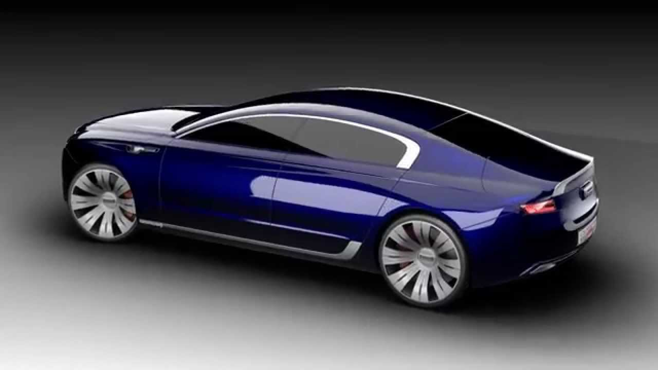 Qoros 9 Sedan Concept - by Design Student, Jihoon Seo - YouTube