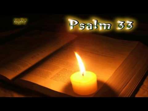 (19) Psalm 33 - Holy Bible (KJV)