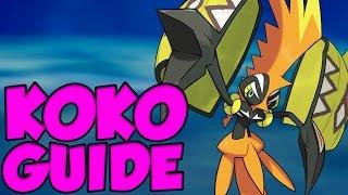 TAPU KOKO GUIDE! Pokemon Sun and Moon Tapu Koko