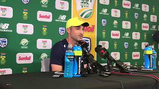 Dean Elgar after his gritty knock on day 4 Against Australia Full Press Conference