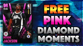 *FREE* PINK DIAMOND MOMENTS REGGIE JACKSON COMING IN NBA 2K21 MyTEAM!! WILL IT BE A CODE??
