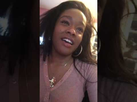 Azealia Banks - Periscope Livestream (Aint Know,Playhouse,New songs) 16.6.2017