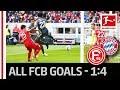 All Bayern Goals vs. Fortuna Düsseldorf – Coman, Gnabry and Goretzka