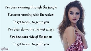 Wolves - Selena Gomez, Marshmello (Lyrics)