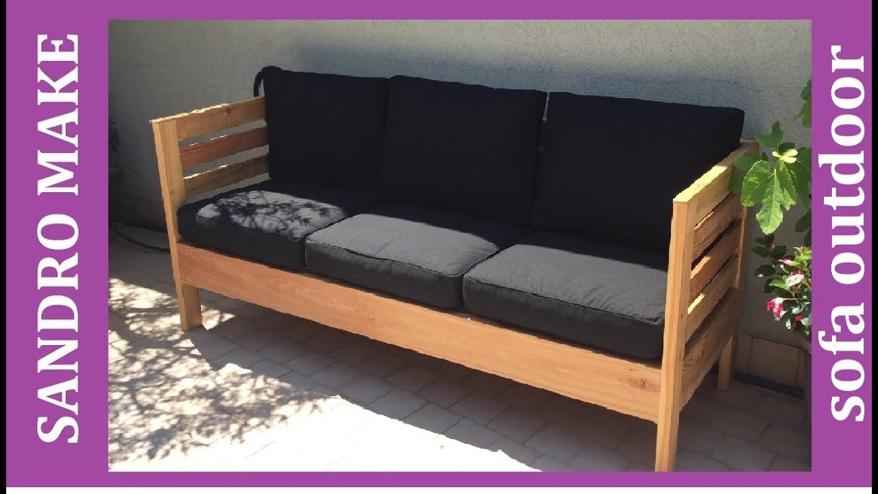 Sofa Outdoor Diy Divano Da Esterno Fai Da Te Youtube