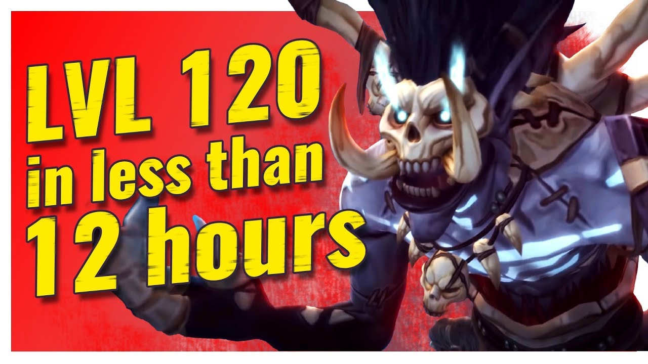 How to reach level 120 in less than 12 hours - Overgear guides