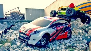 TOY TRUCKS BRUDER Bworld Construction Motorstorm RC-RACE Rally MONSTERTRUCK