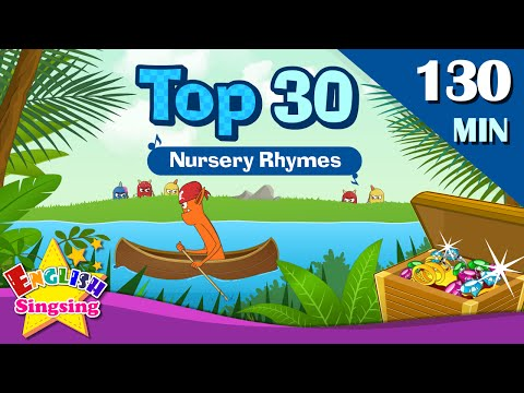 Row, Row, Row Your Boat+More Nursery Rhymes | Top 30 of Nursery rhymes | Collection of Kids Songs