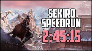 SEKIRO Speedrun  2:45:15 ( All Beads / Memories)