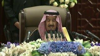 خطاب الملك سلمان في افتتاح أعمال الدورة الرابعة لمجلس الشورى