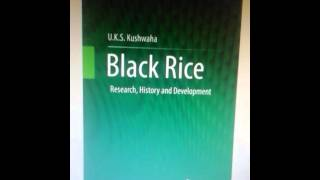 Black Rice-Research, History and Development