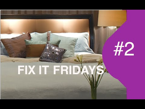 Interior Design |  Love Shack  Bedroom | Fix It Fridays 2