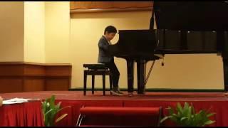 Moses Wong 7yo plays Burgmuller Inquietude