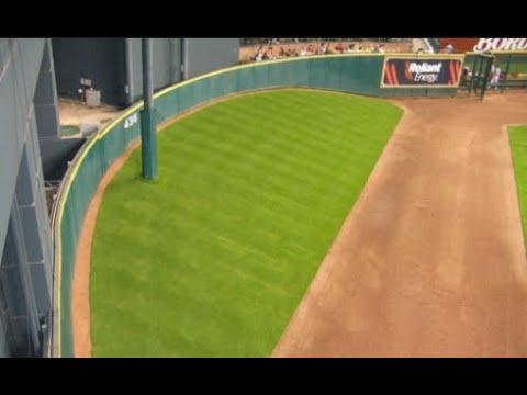 MLB Weird Areas Inside Stadiums