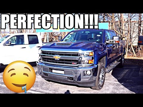 THE NEW 2018 CHEVROLET DURAMAX SUPRISED ME!!