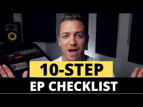 The 10 Step EP Checklist – RecordingRevolution.com