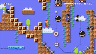~Abandoned Express!(CP): Beating Super Mario Maker's HARDEST Levels!